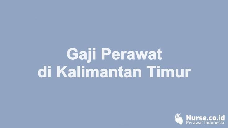 Gaji Profesi Perawat di Provinsi Kalimantan Timur - nurse.co.id